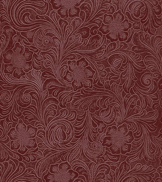 faux leather floral pattern:スマホ壁紙(壁紙.com)