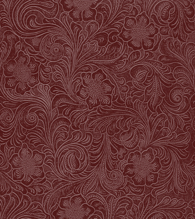 Art Nouveau「faux leather floral pattern」:スマホ壁紙(5)