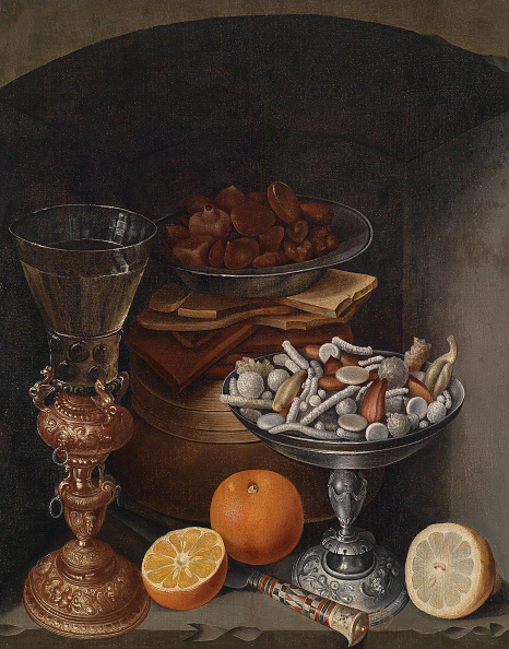 Oil On Wood「Still Life With A Wineglass」:写真・画像(9)[壁紙.com]