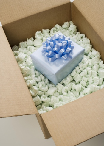Foam - Material「Still life of box of Styrofoam with gift」:スマホ壁紙(5)