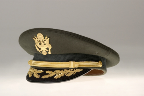 Officer - Military Rank「Still life of US Army Colonel Chaplain's hat」:スマホ壁紙(18)