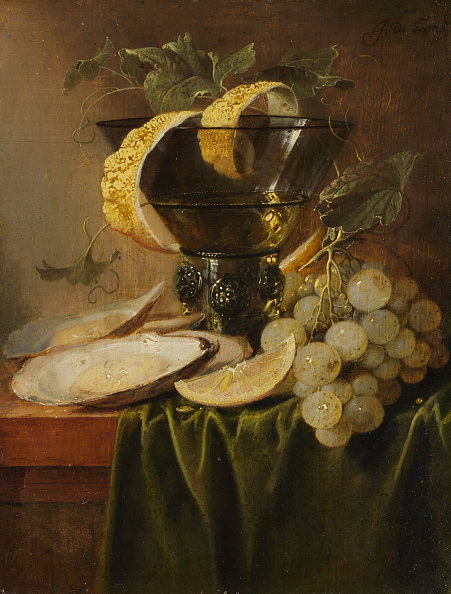 Crustacean「Still Life With A Glass And Oysters」:写真・画像(11)[壁紙.com]