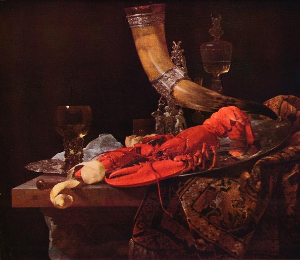 静物「Still Life with Drinking-Horn, c1653, (1938). Artist: Willem Kalf」:写真・画像(1)[壁紙.com]