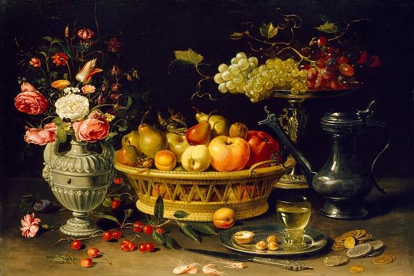 カーネーション「Still Life Of Fruit And Flowers」:写真・画像(4)[壁紙.com]