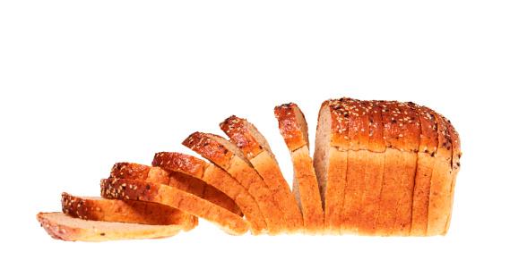 Loaf of Bread「Still life of a sliced loaf of bread.」:スマホ壁紙(19)