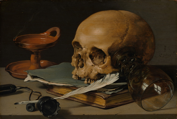 Ink「Still Life With A Skull And A Writing Quill」:写真・画像(12)[壁紙.com]