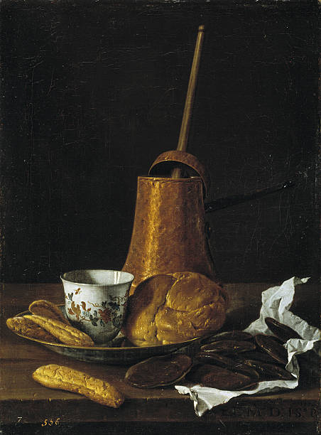 Still life with chocolate and pastries, 1770:ニュース(壁紙.com)