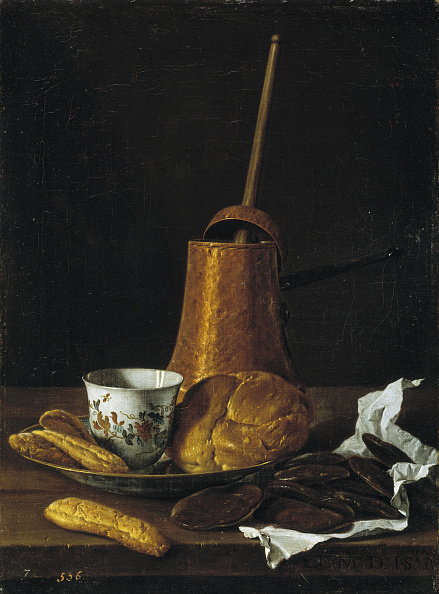 Painted Image「Still life with chocolate and pastries, 1770」:写真・画像(3)[壁紙.com]