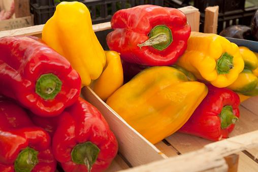 Market Stall「Still life of vegetables for sale.」:スマホ壁紙(11)
