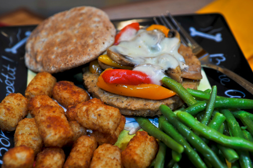 Veggie Burger「Still Life food」:スマホ壁紙(3)