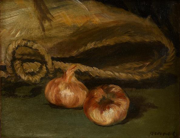 静物「Still Life With Bag And Garlic 1861-1862」:写真・画像(3)[壁紙.com]