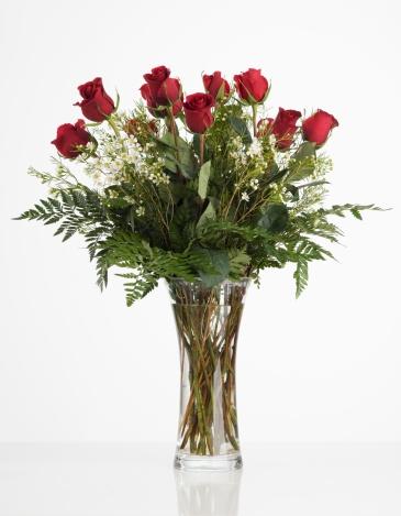 Receiving「Still life of red roses」:スマホ壁紙(18)