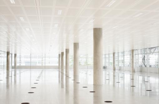 Moving Office「Still life of modern empty office space」:スマホ壁紙(7)