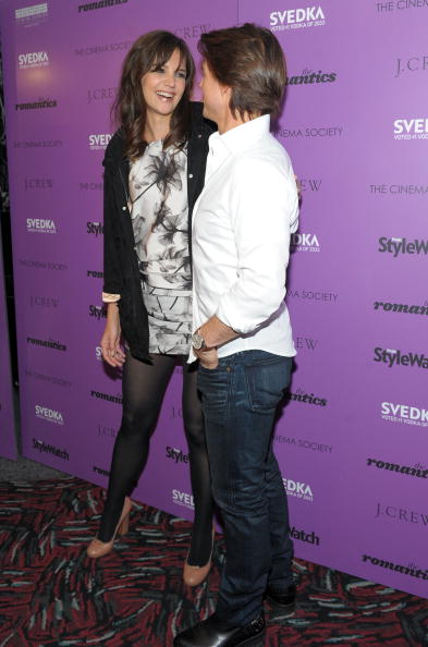 "Hosiery「The Cinema Society Screening Of ""The Romantics"" - Inside Arrivals」:写真・画像(15)[壁紙.com]"