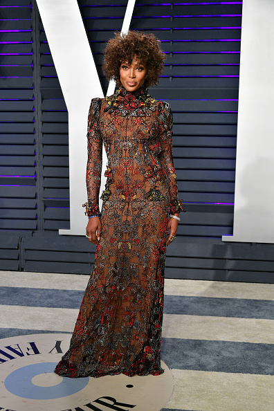 Embroidery「2019 Vanity Fair Oscar Party Hosted By Radhika Jones - Arrivals」:写真・画像(12)[壁紙.com]