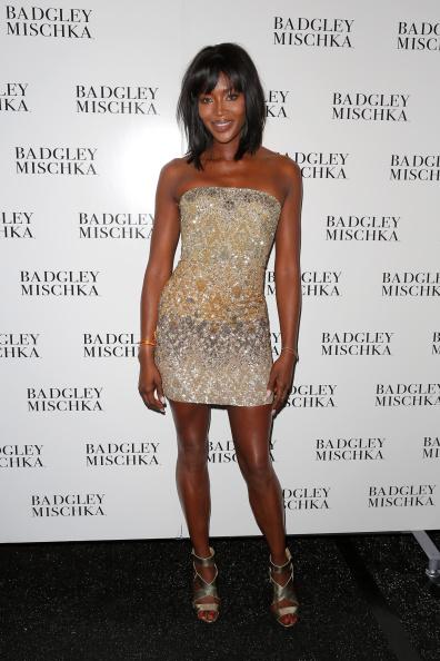 Metallic Shoe「Badgley Mischka - Backstage - Mercedes-Benz Fashion Week Spring 2015」:写真・画像(6)[壁紙.com]