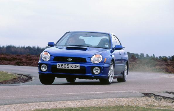 Dust「2001 Subaru Impreza WRX」:写真・画像(19)[壁紙.com]