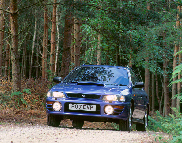 Footpath「1997 Subaru Impreza 2000 Turbo. Creator: Unknown.」:写真・画像(4)[壁紙.com]