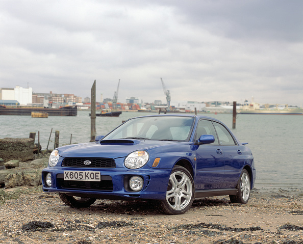 Journey「2001 Subaru Impreza WRX」:写真・画像(2)[壁紙.com]