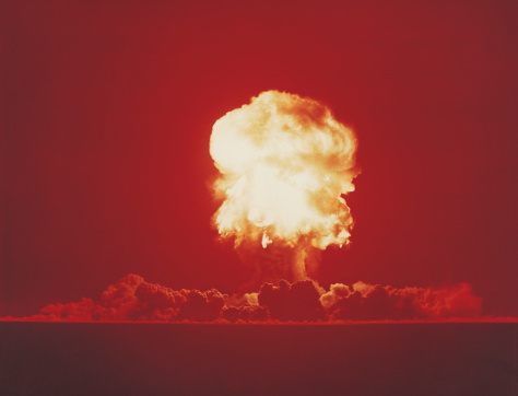 Explosive「Nuclear Bomb Test, Nevada, June 18 1957」:スマホ壁紙(2)