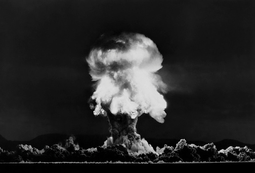 Explosive「Nuclear Bomb Explosion, Nevada Test, 23rd July 1957」:スマホ壁紙(8)