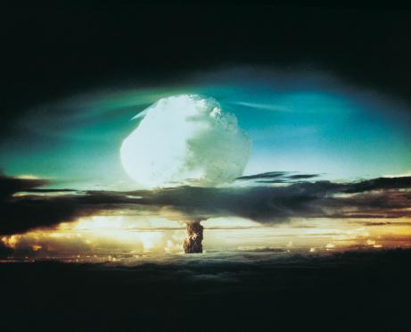 Hydrogen Bomb「Nuclear Bomb Test, Bikini atoll and Enewetak, October 21 1952」:スマホ壁紙(15)
