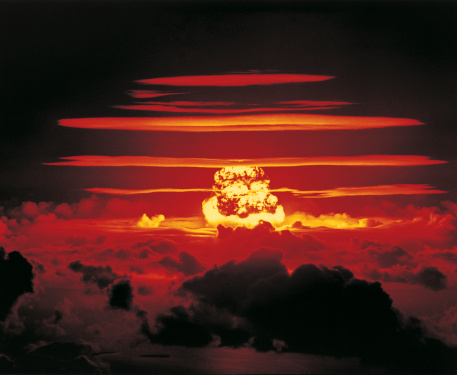 Explosive「Nuclear Bomb Test, Bikini atoll and Enewetak, June 25 1956」:スマホ壁紙(1)