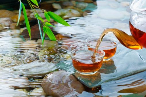 """Teapot「""""Tea set,close-up""""」:スマホ壁紙(1)"""