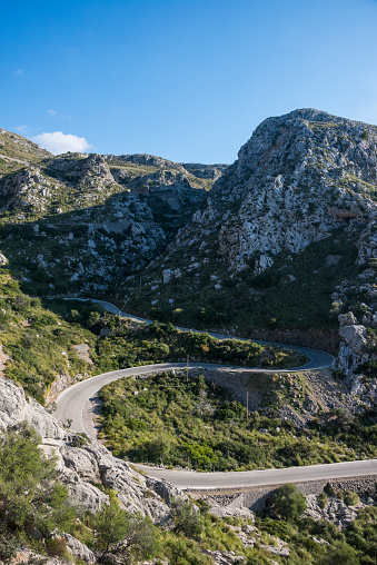 Hairpin Curve「Spain, Baleares, Mallorca, Tramuntana mountains, Serpentine」:スマホ壁紙(13)