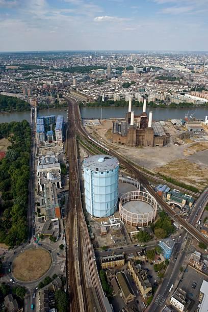 Battersea Power Station and Gasworks, London, 2006:ニュース(壁紙.com)