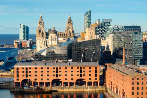 Liverpool - England「Liverpool Landmarks, England」:スマホ壁紙(5)