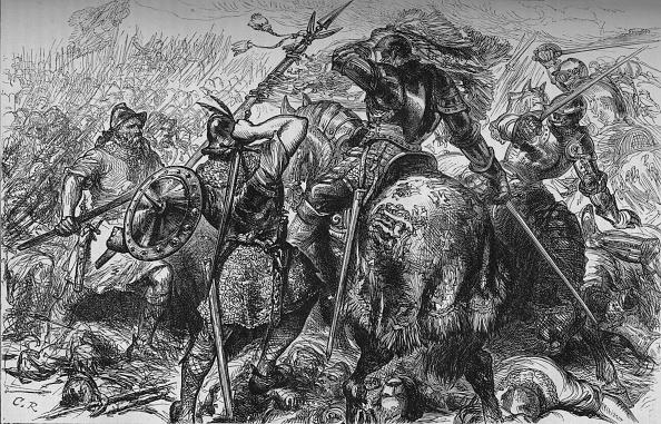 East Lothian「'The Fight for the Standard at Pinkie', 10 September 1547, (c1880)」:写真・画像(17)[壁紙.com]