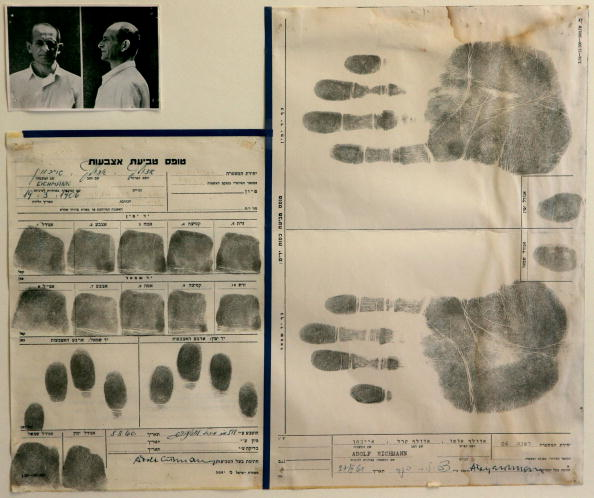 Writing「Eichmann's Fingerprints Donated To Yad Vashem Holocaust Memorial」:写真・画像(7)[壁紙.com]