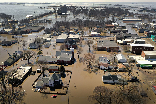 Extreme Weather「Flooding Continues To Cause Devastation Across Midwest」:写真・画像(3)[壁紙.com]