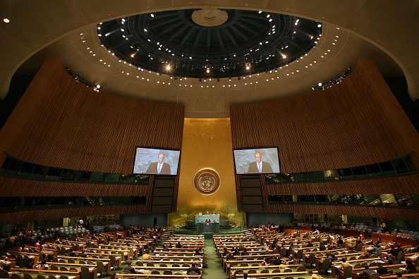 United Nations Building「Heads Of State Address United Nations General Assembly」:写真・画像(4)[壁紙.com]