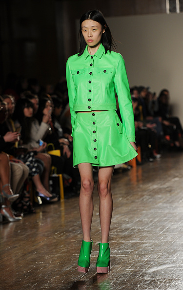 London Fashion Week「Fyodor Golan - Runway - LFW FW15」:写真・画像(6)[壁紙.com]