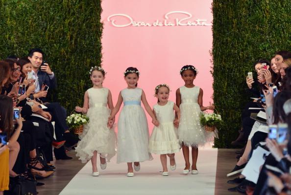 Bride「Spring 2015 Bridal Collection - Oscar De La Renta - Show」:写真・画像(3)[壁紙.com]