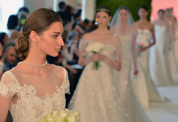 Bride「Spring 2015 Bridal Collection - Oscar De La Renta - Show」:写真・画像(5)[壁紙.com]