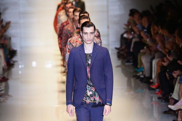 Vittorio Zunino Celotto「Gucci - Runway - MFW S/S 2014」:写真・画像(6)[壁紙.com]