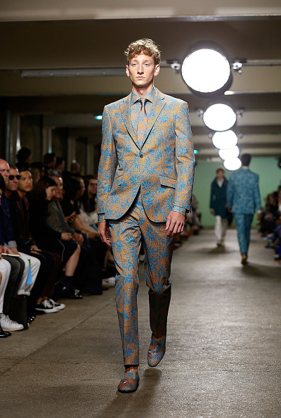 Tristan Fewings「Richard James - Runway - London Collections Men SS16」:写真・画像(18)[壁紙.com]