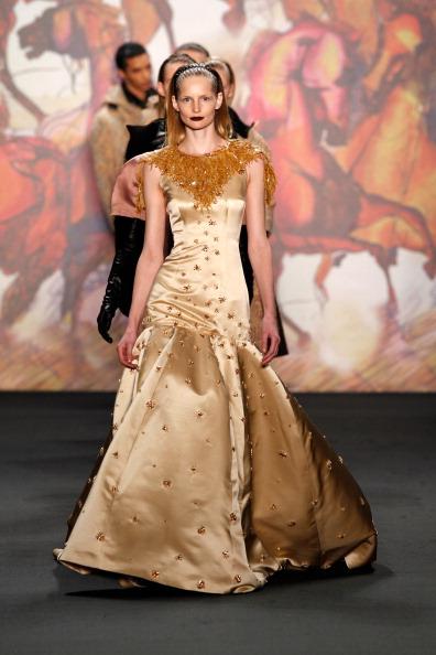Cream Colored「Kilian Kerner Show - Mercedes-Benz Fashion Week Autumn/Winter 2014/15」:写真・画像(7)[壁紙.com]