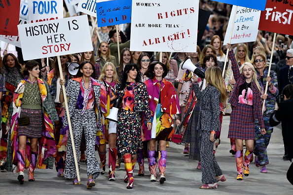 Spring Summer Collection「Chanel : Runway - Paris Fashion Week Womenswear Spring/Summer 2015」:写真・画像(12)[壁紙.com]
