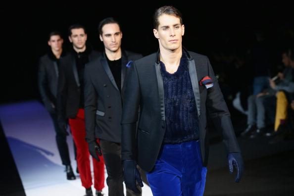 Males「Emporio Armani - Runway - Milan Fashion Week Menswear Autumn/Winter 2013」:写真・画像(17)[壁紙.com]
