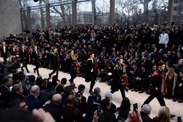 Ian Gavan「Burberry AW14 Menswear Show - Front Row & Runway」:写真・画像(0)[壁紙.com]