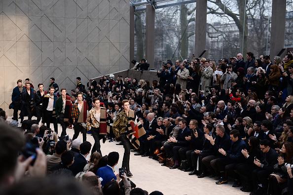 Ian Gavan「Burberry AW14 Menswear Show - Front Row & Runway」:写真・画像(1)[壁紙.com]