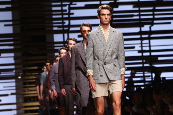 Milan Menswear Fashion Week「Salvatore Ferragamo - Runway - Milan Fashion Week Menswear Spring/Summer 2015」:写真・画像(11)[壁紙.com]