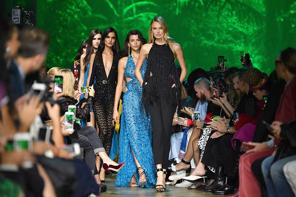 Elie Saab - Designer Label「Elie Saab : Runway - Paris  Fashion Week Womenswear Spring/Summer 2018」:写真・画像(12)[壁紙.com]