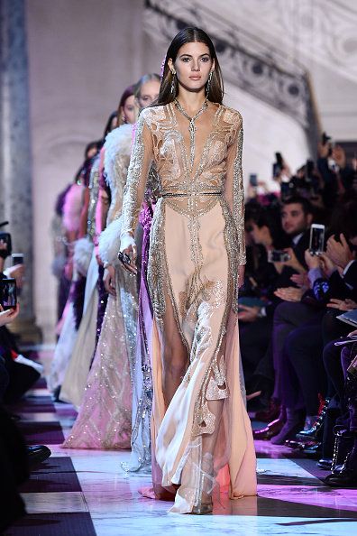 Elie Saab - Designer Label「Elie Saab : Runway - Paris Fashion Week - Haute Couture Spring Summer 2018」:写真・画像(6)[壁紙.com]