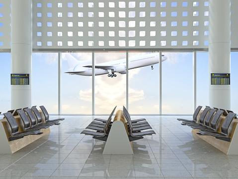 Airport Runway「Airport Lounge」:スマホ壁紙(8)