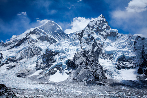 Khumbu「Himalayas mountain range with Mt Everest」:スマホ壁紙(16)